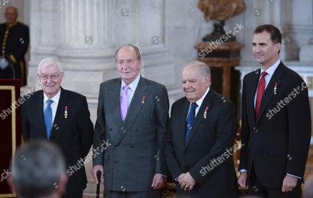 King Juan Carlos ; Enrique V. Iglesias ; Crown Prince Felipe
