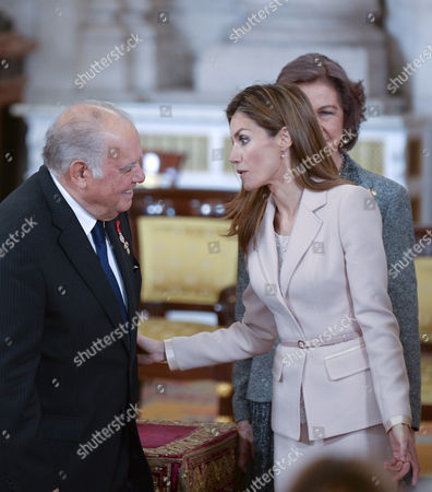 Editorial image of Enrique V. Iglesias receives the Order of the Golden Fleece, Madrid, Spain - 07 Apr 2014