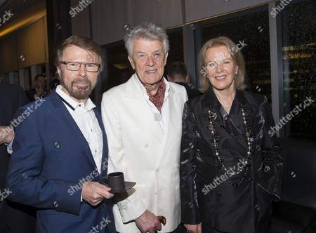 Bjorn Ulvaeus, Sven-Bertil Taube, Anni-Frid Lyngstad