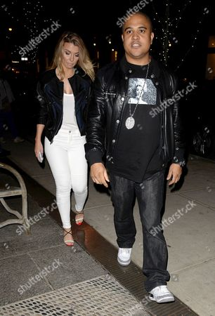 Irv Gotti arriving at The Crosby Hotel