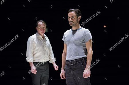 Michael Gould (Alfieri) and Richard Hansell (Louis)