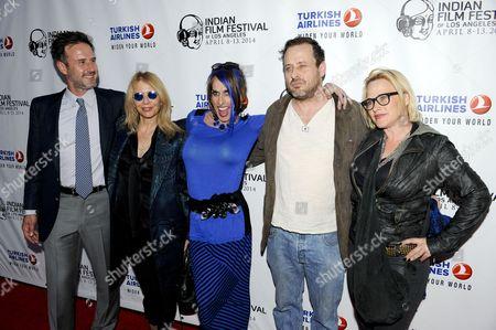 Stock Picture of David Arquette, Rosanna Arquette, Alexis Arquette, Richmond Arquette and Patricia Arquette