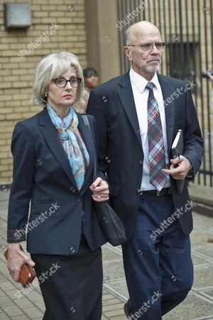 Oscar Pistorius's Uncle Arnold Pistorius and Aunt Lois Pistorius