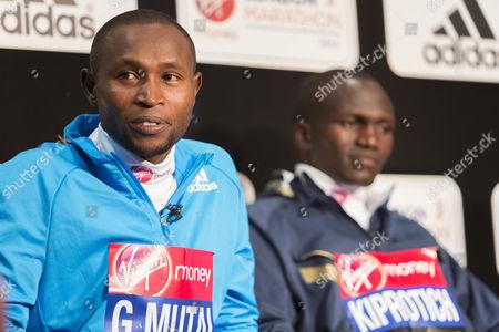 Geoffrey Mutai (Kenya), Stephen Kiprotich (Uganda)