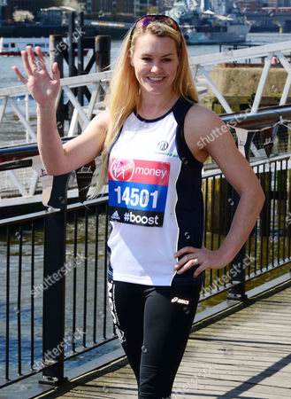 Editorial picture of Virgin London Marathon photocall at The Tower Hotel, London, Britain - 09 Apr 2014