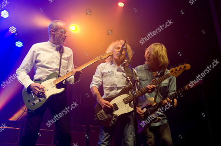 Stock Picture of Status Quo - Francis Rossi, Alan Lancaster and Rick Parfitt