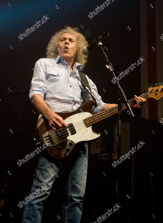 Editorial picture of Status Quo in concert at the 02 Academy, Glasgow, Scotland, Britain - 09 Apr 2014