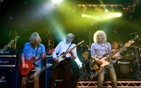 Stock Photo of Status Quo - Rick Parfitt, Francis Rossi, Alan Lancaster and John Coghlan