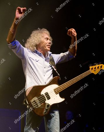 Editorial photo of Status Quo in concert at the 02 Academy, Glasgow, Scotland, Britain - 09 Apr 2014