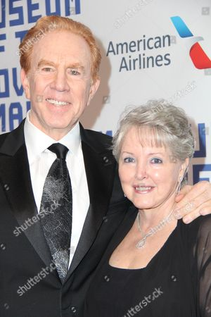 Alan Kalter and wife Peggy Kalter