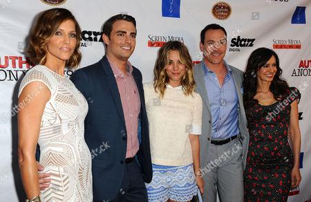 Tricia Helfer, Jonathan Bennett, Chris Klein and Charlene Amoia