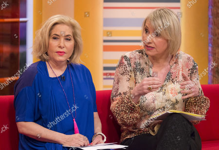 Brix Smith and Louise Cooper