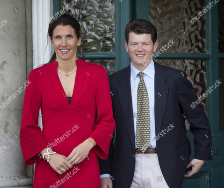 Trainer Andrew Balding and his wife Anna-Lisa Balding.