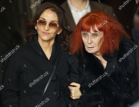 Nathalie Rykiel and Sonia Rykiel