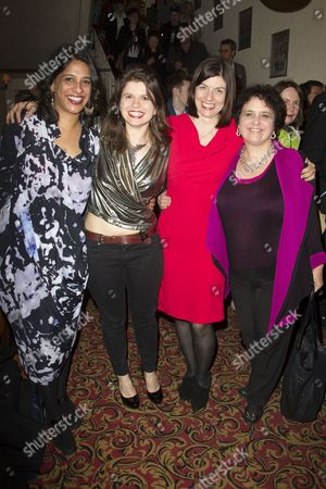 Indhu Rubasingham (Director), Eleanor Lloyd (Producer) and Moira Buffini (Author)