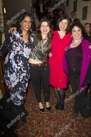 Indhu Rubasingham (Director), Eleanor Lloyd (Producer), Moira Buffini (Author) and Nica Burns