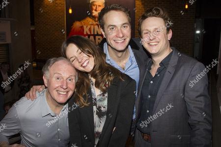 Tim Pigott-Smith (Charles), Lydia Wilson (Kate), Oliver Chris (William) and Richard Goulding (Harry)