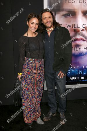 Stock Picture of Megan Ozurovich and Clifton Collins Jr