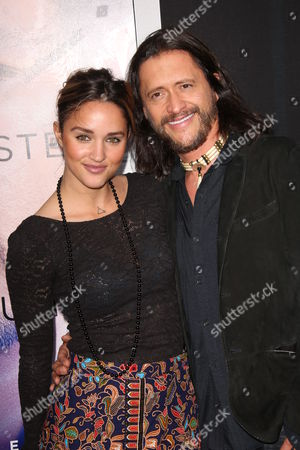 Stock Image of Megan Ozurovich and Clifton Collins Jr