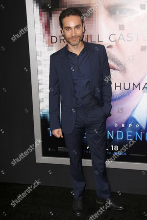 Editorial photo of 'Transcendence' film premiere, Los Angeles, America - 10 Apr 2014