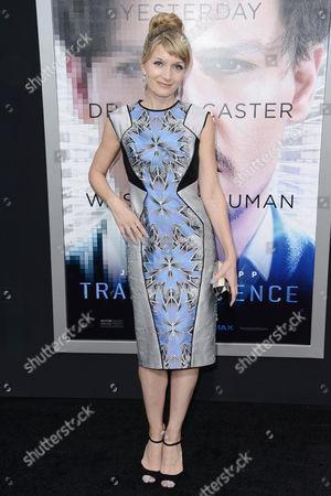 Editorial photo of 'Transcendence' film premiere, Los Angeles, America - 10 Apr 2014