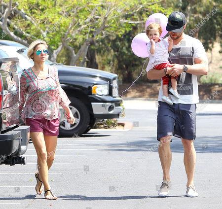 Elsa Pataky, Chris Hemsworth, daughter India Rose Hemsworth