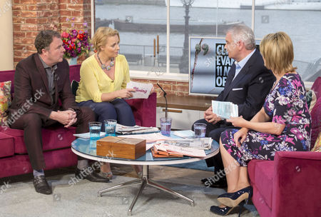 Paul Ross and Daisy McAndrew with Eamonn Holmes and Ruth Langsford