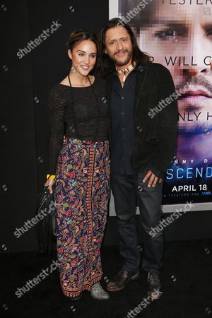 Editorial image of 'Transcendence' film premiere, Los Angeles, America - 10 Apr 2014