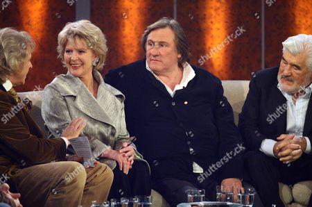 Thomas Gottschalk, Christiane Hoerbiger, Gerard Depardieu, Mario Adorf - Salzburg, Austria