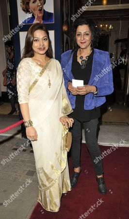 Ayesha Dharker and Meera Syal