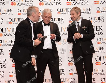 Editorial image of Olivier Awards, Royal Opera House, London, Britain - 13 Apr 2014