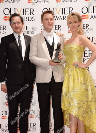 Bertie Carvel, Stephen Ashfield (Best Performance in a supporting Role in a Musical) and Leigh Zimmerman