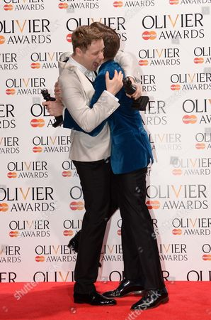 Stephen Ashfield (Best Performance in a Supporting Role) and Gavin Creel (Best Actor in a Musical)