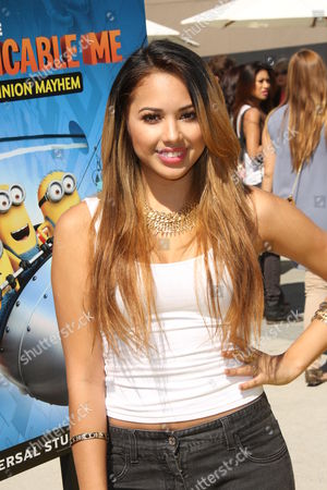 Editorial picture of 'Despicable Me Minion Mayhem' at Universal Studios, Los Angeles, America - 11 Apr 2014