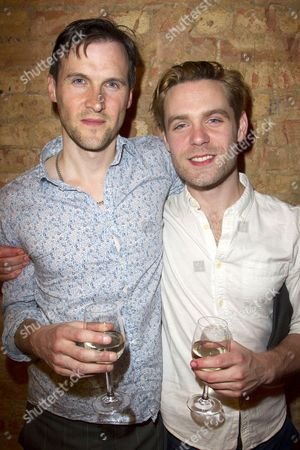 Stock Picture of Jonah Russell (First Officer) and Luke Norris (Rodolpho)