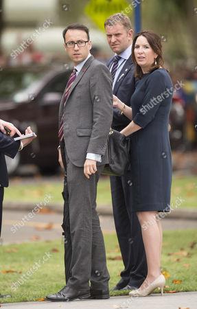 Miguel Head, Private secretary to The Duke and Catherine Duchess of Cambridge and Rebecca Deacon Private Secretary to The Catherine Duchess of Cambridge