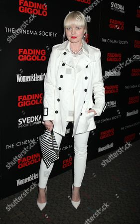 Editorial photo of 'Fading Gigolo' film screening at the Cinema Society, New York, America - 11 Apr 2014