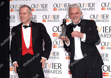 Editorial picture of Olivier Awards, Royal Opera House, London, Britain - 13 Apr 2014