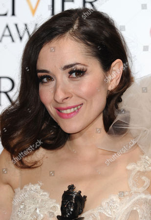 Editorial photo of Olivier Awards, Royal Opera House, London, Britain - 13 Apr 2014