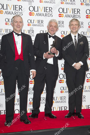 Robert Goodale, David Goodale and Martin Freeman