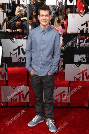 Editorial image of 2014 MTV Movie Awards, Arrivals, Los Angeles, America - 13 Apr 2014