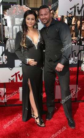 Editorial picture of 2014 MTV Movie Awards, Arrivals, Los Angeles, America - 13 Apr 2014