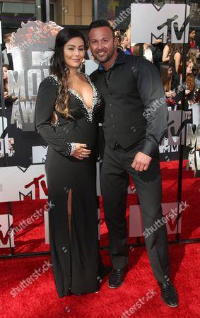 Editorial photo of 2014 MTV Movie Awards, Arrivals, Los Angeles, America - 13 Apr 2014