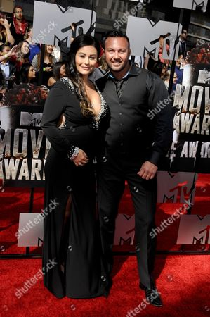 Jenni J-Woww Farley and Roger Matthews