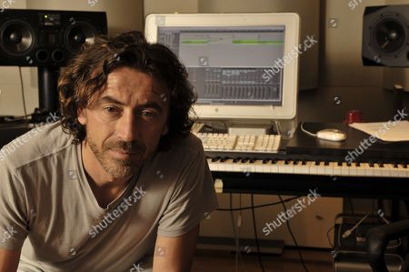 Reggio Emilia Italy - June 30: Portrait Of Italian Dj And House Music Producer Benny Benassi In His Studio