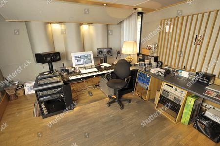 Reggio Emilia Italy - June 30: Studio Belonging To Italian Dj And House Music Producer Benny Benassi