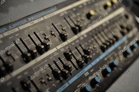 Reggio Emilia Italy - June 30: A Roland Super Jupiter Mpg-80 Programmer