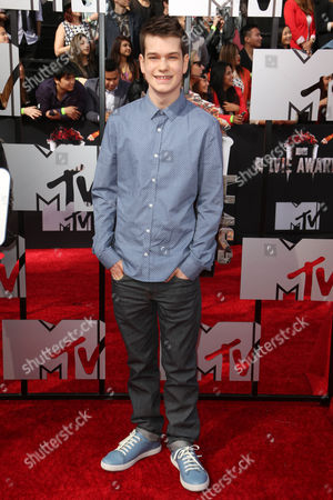 Editorial image of 2014 MTV Movie Awards, Arrivals, Los Angeles, America - 13 Apr 2014