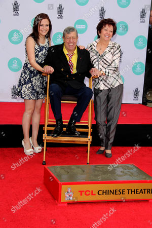 Danielle Sarah Lewis, Jerry Lewis and SanDee Pitnick