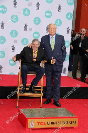 Jerry Lewis and Robert Osborne
